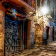 Telón - Forillo Calle en Barcelona