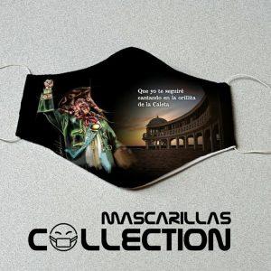 Mascarilla carnaval Manolo Santander Caleta