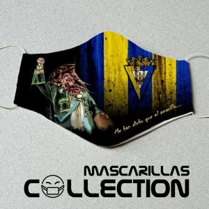 Mascarilla carnaval Manolo Santander Cádiz